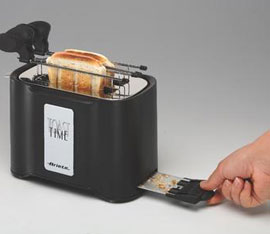 pulizia del tostapane